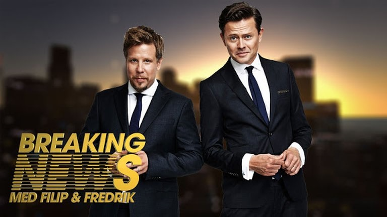 Breaking News med Filip och Fredrik